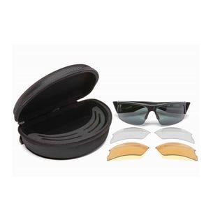 Spy Optics SI Flyer Sunglasses Matte Black with case (EA1)