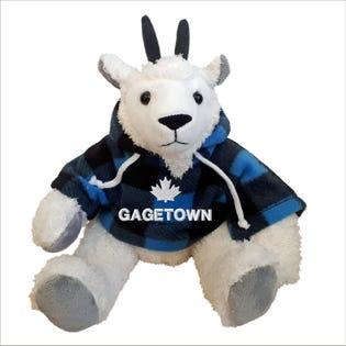 Chèvre Gagetown en peluche de 10 po