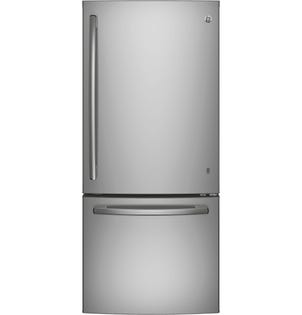 GE Bottom Mount Refrigerator GBE21ASKSS