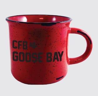 Tasse en céramique de la CFB Goose Bay