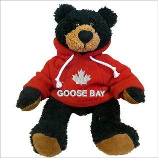 Ourson noir Goose Bay en peluche de 10 po