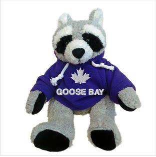 Raton laveur Goose Bay en peluche de 10 po
