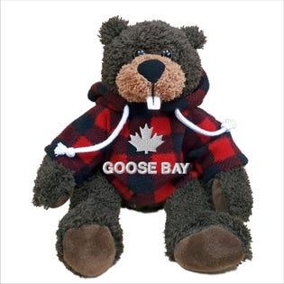 Castor Goose Bay en peluche de 10 po