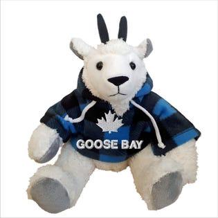 Chèvre Goose Bay en peluche de 10 po
