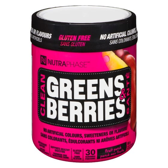 Nutraphase Greens & Berries - Mojito 30 Servings