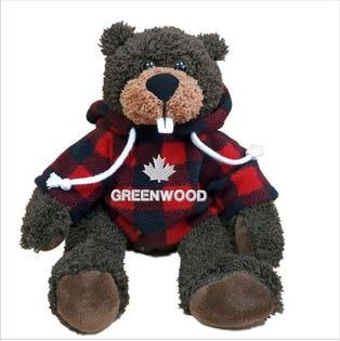 """Greenwood Beaver Plush 10"""""""