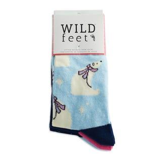 WILDFEET W Polar Bear 3PK  Socks