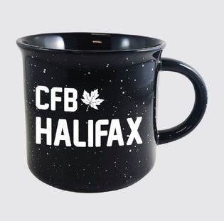 Tasse en céramique de la CFB Halifax