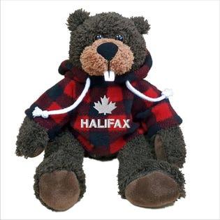 """Halifax Beaver Plush 10"""""""