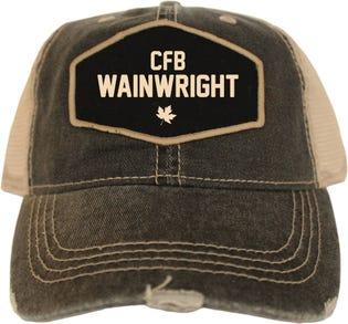 Casquette style rétro de la CFB Wainwright