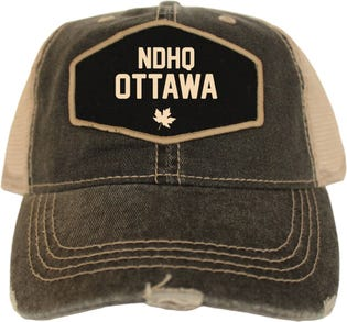 Casquette style rétro de la NDHQ Ottawa