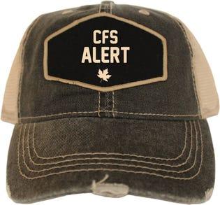 CFS Alert Vintage Style Ball Cap