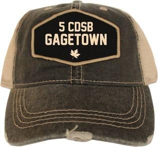 5 CDSB Gagetown Vintage Style Ball Cap