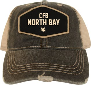Casquette style rétro de la CFB North Bay