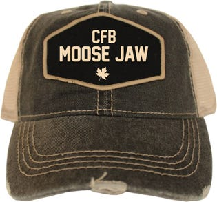 CFB Moose Jaw Vintage Style Ball Cap