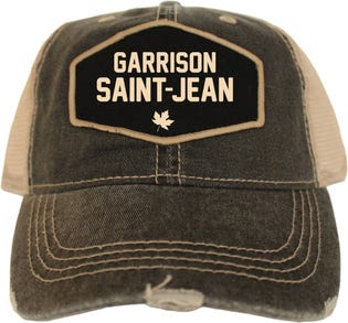 Casquette style rétro de la Garrison Saint-Jean