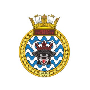 HMCS Queen Charlotte Sticker