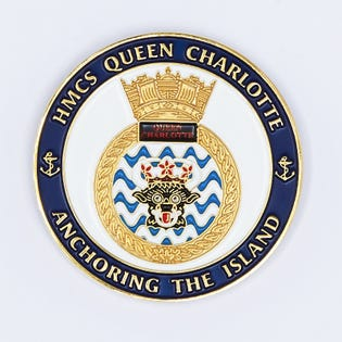 HMCS Queen Charlotte Coin