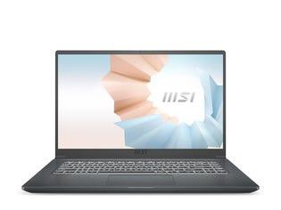"""MSI Modern 15.6"""" Thin Laptop A10M-489CA"""