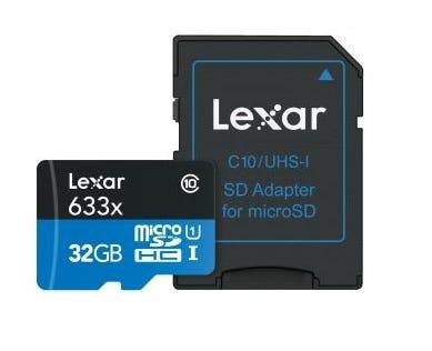 LEXAR SD UHS-I 32gb