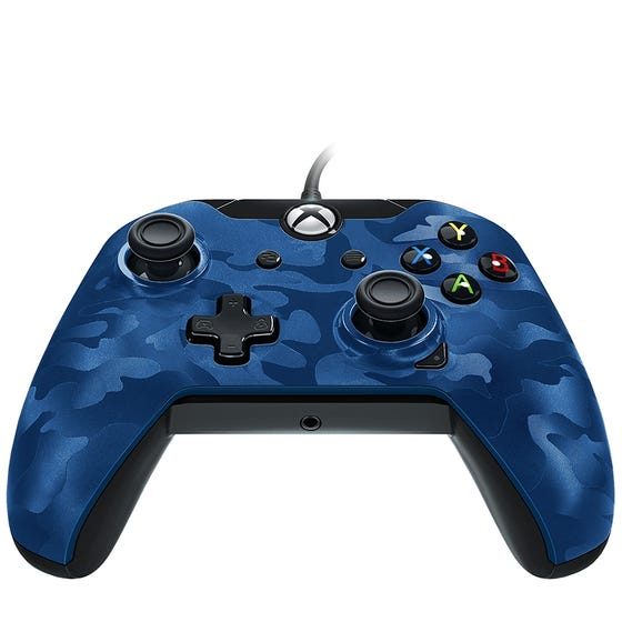 PDP Wired Controller Xbox One Blue
