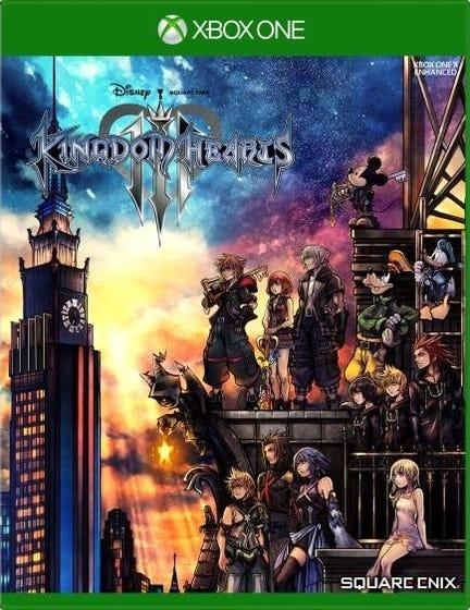 Xbox One Kingdom Hearts 3