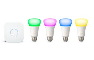 PHILIPS Hue Colour A19 Starter Kit - 4PK