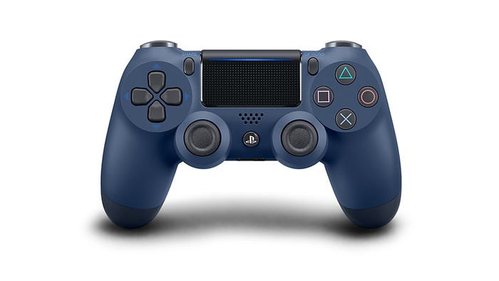 PS4 Wireless Controller Midnight Blue