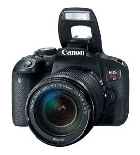 Canon EOS Rebel T7i DSLR Camera Kit