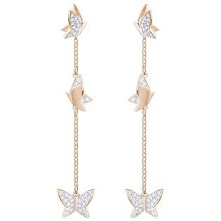 SWAROVSKI  Lila Ver Drop Earrings