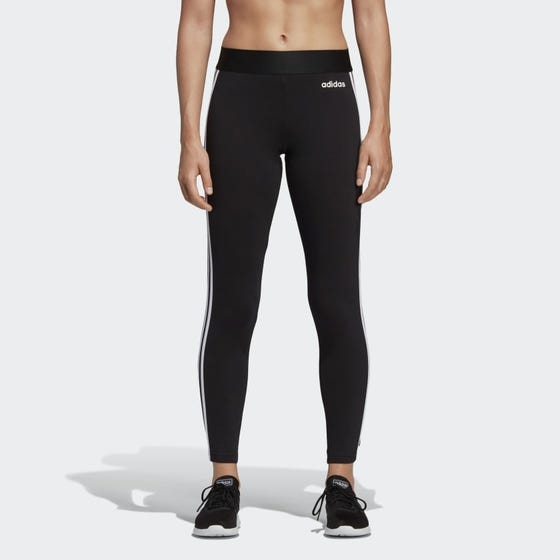 Adidas Women's Essential 3 Stripe Leggings