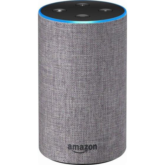 Amazon Echo 2nd Gen Heather Gray