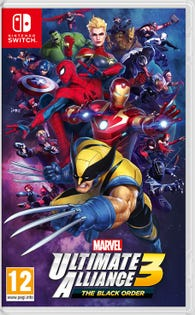 Switch Marvel Ultimate Alliance 3 Game