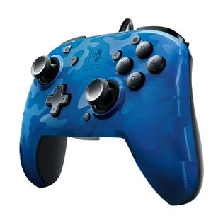 PDP Faceoff Controller Switch Blue