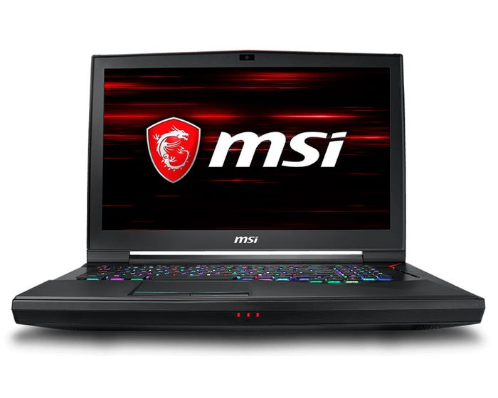 MSI Titan Gaming Laptop 17in
