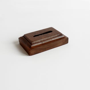 Individual Coin Holder - Cherry
