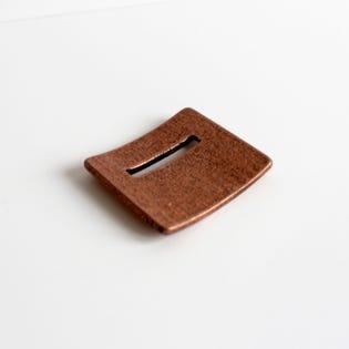 Square Coin Holder Copper