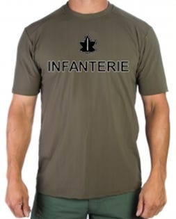 RCIC Infanterie Dry Fit T-Shirt