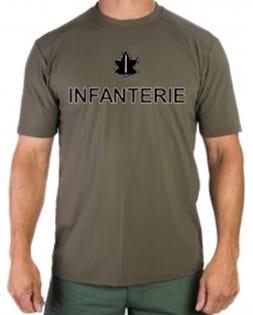 Infanterie Dry Fit T-Shirt Français