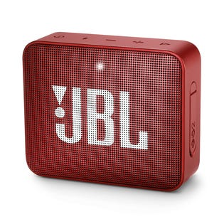 JBL Go 2 Portable Bluetooth Speaker Red JBLGO2REDAM