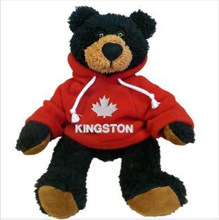 """Kingston Black Bear Plush 10"""""""