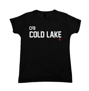 T-Shirt pour femme de la CFB Cold Lake