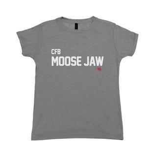 T-Shirt pour femme de la CFB Moose Jaw