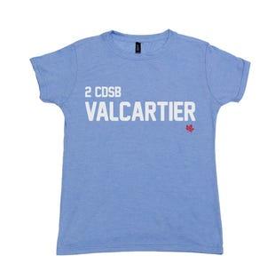T-Shirt pour femme de la 2 CDSB Valcartier