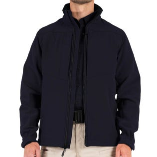 First Tactical Men's Tactix Series Softshell Jacket Navy (EA1)