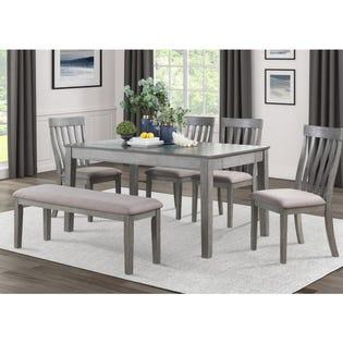 Mazin Dining Table Armhurst 5706GY-60