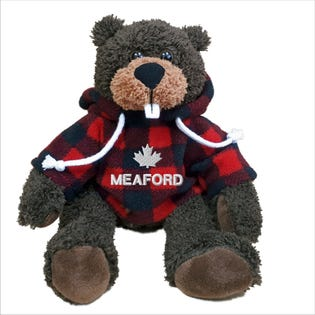 "Meaford Beaver Plush 10"""