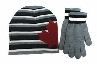 Men's Toque and Glove Set