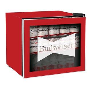 Réfrigérateur à Boissons 1.6 Pi. Ca. à Porte en Verre Budweiser - Rouge APMIS168 (EA1)