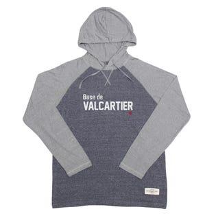 Base de Valcartier Slub Hooded Shirt